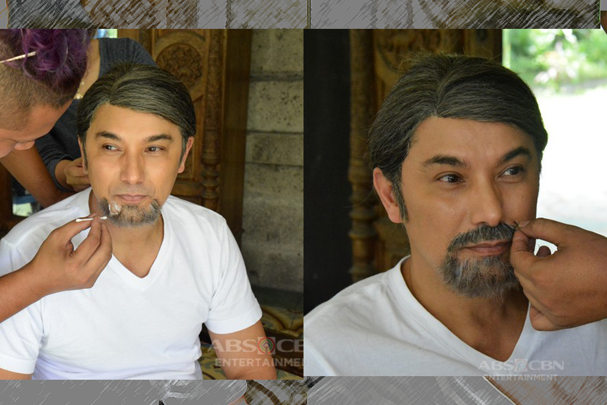 LOOK: How Albert Martinez transformed into La Luna Sangre's Prof T
