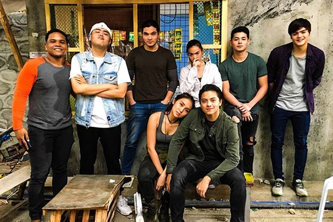 PHOTOS: What La Luna Sangre's Moonchasers do in between takes
