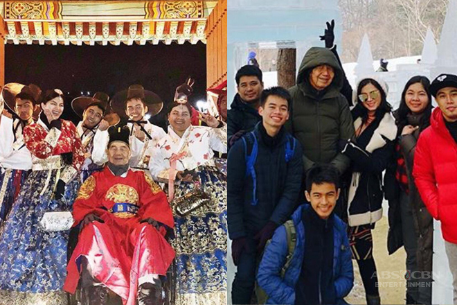 LOOK: 9 rare photos of Angel Locsin with her family