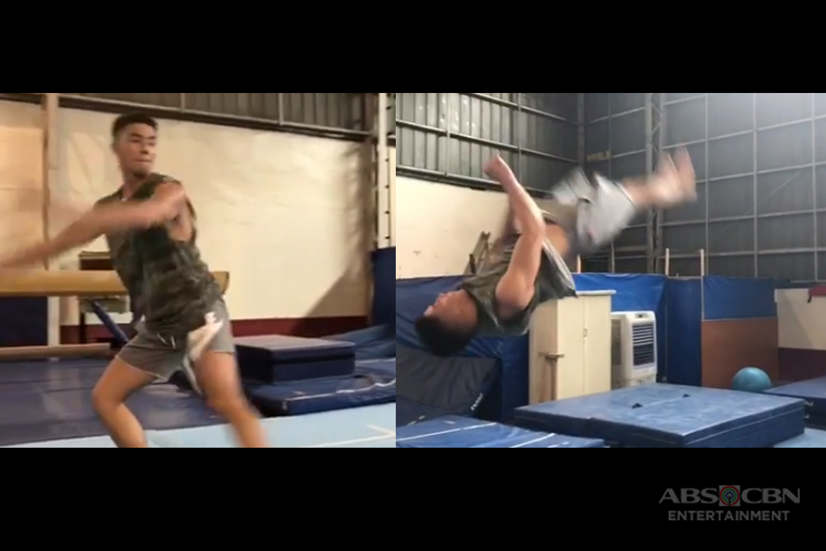 WATCH: See how flexible Tony Labrusca's body is in this clip!
