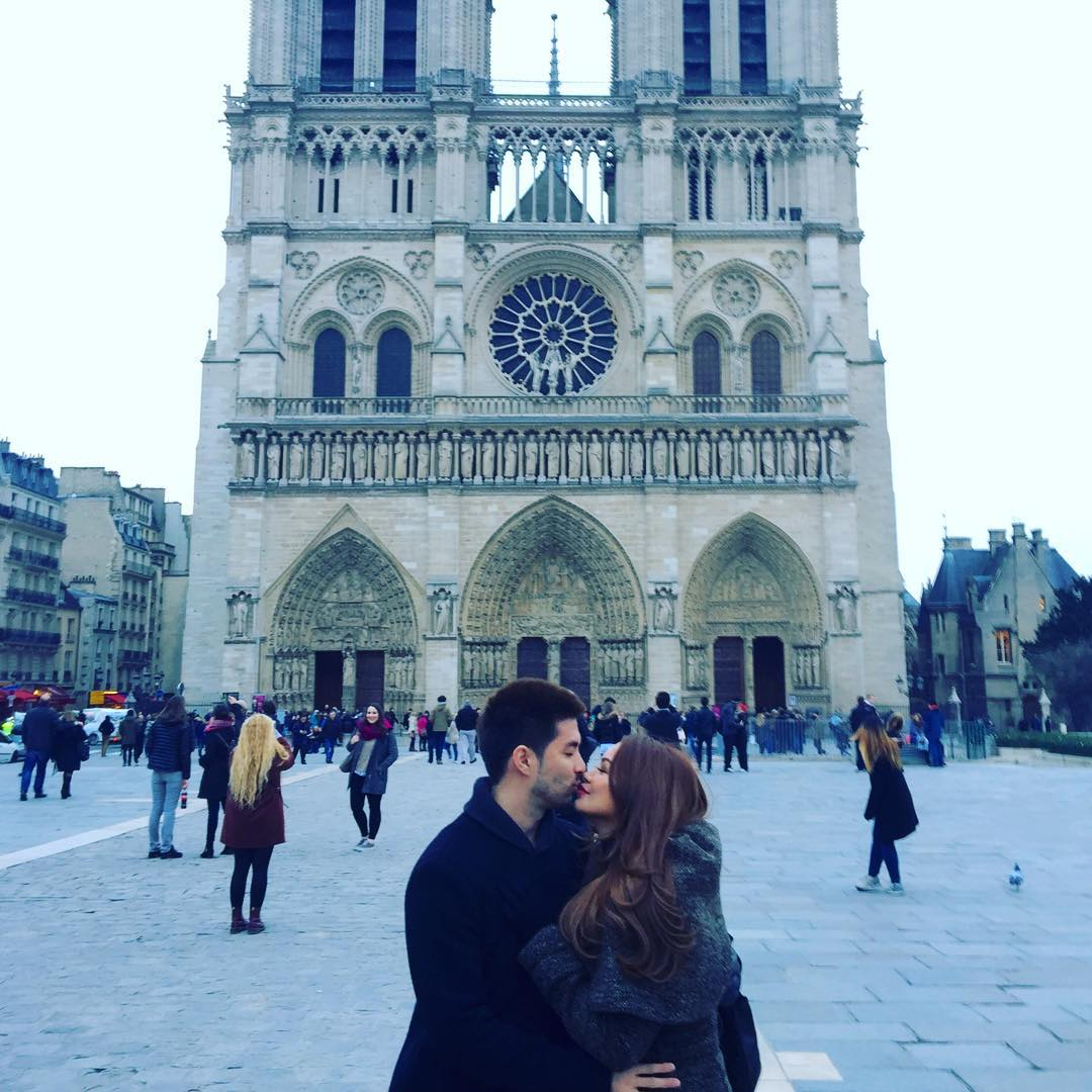 38 photos of Joross and Katz that prove their love can take them to places