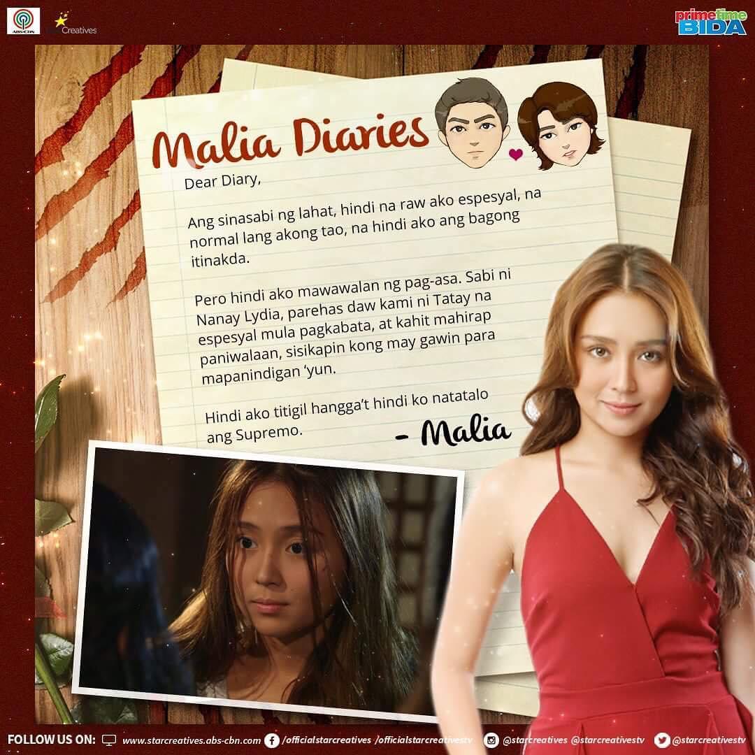 IN PHOTOS: Malia's Diaries