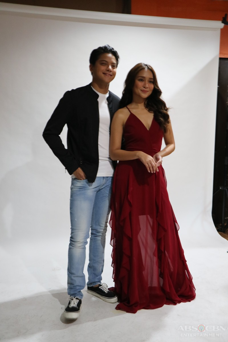 CAPTURED ON CAM: Kilig La Luna Sangre Photoshoot with KathNiel