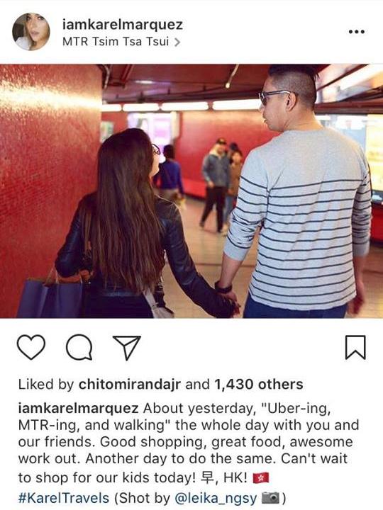 """55 photos that show Karel Marquez finally found her """"forever"""""""
