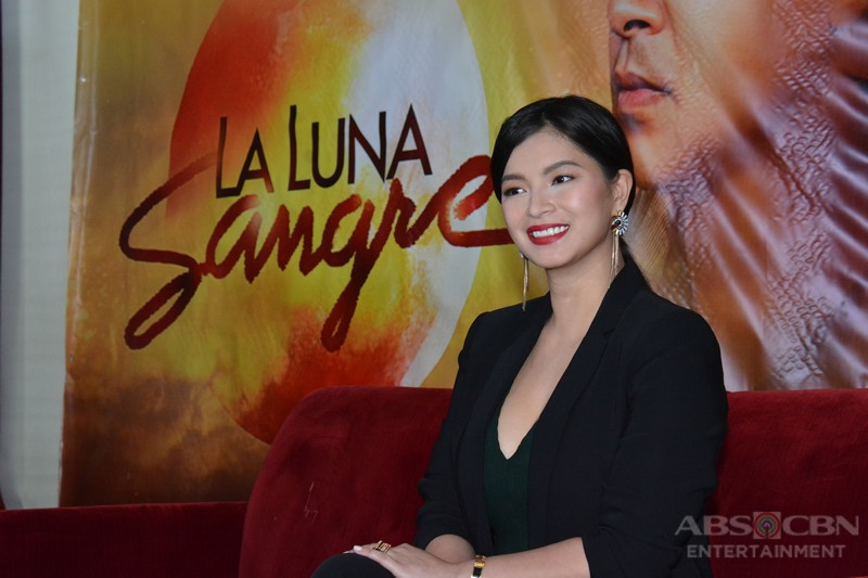 IN PHOTOS: Blooming and sexier Angel Locsin meets the Press