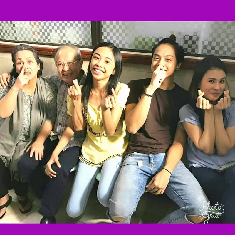 On the set of La Luna Sangre: Gelli and Maymay's off cam bonding moments