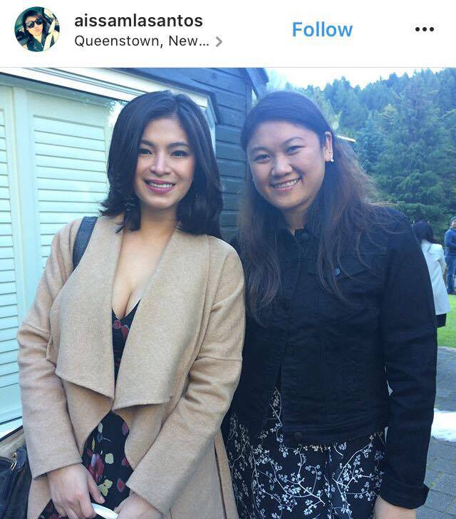SPOTTED: Angel Locsin at Anne & Erwan's Wedding