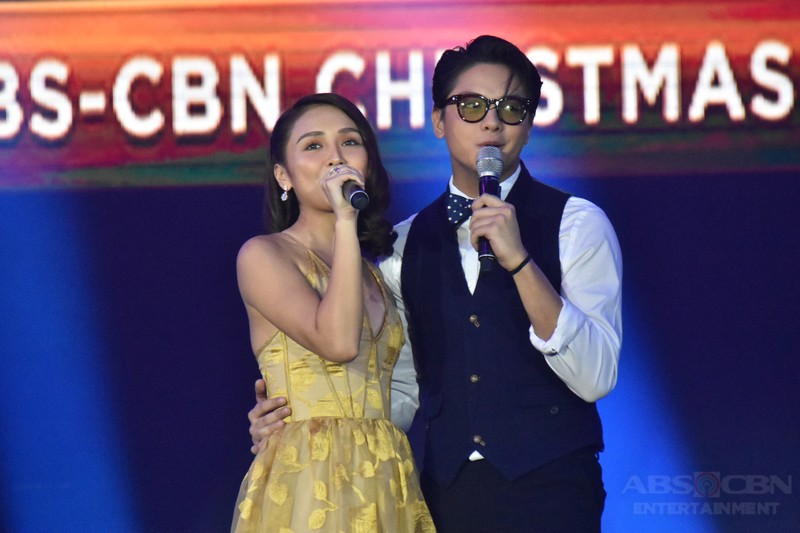 La Luna Sangre's KathNiel at the Just Love: The ABS-CBN Christmas Special