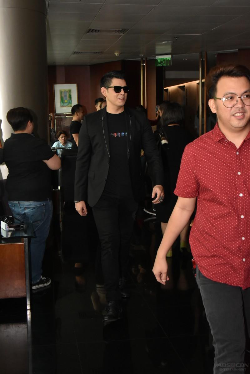 La Luna Sangre Thanksgiving Presscon: Just POGI photos of Daniel Padilla and Richard Gutierrez!